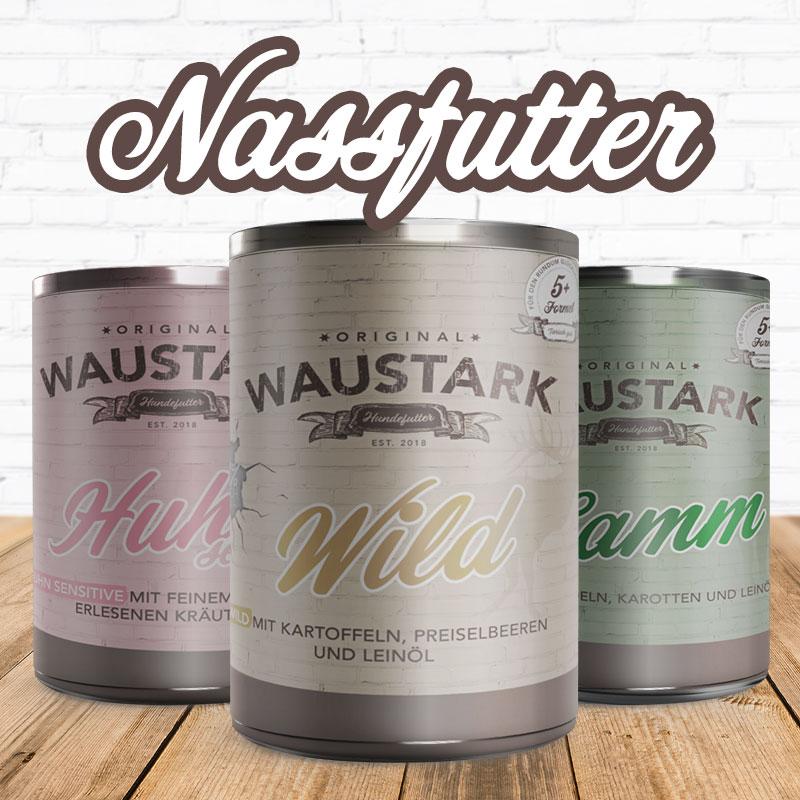 WAUSTARK Nassfutter