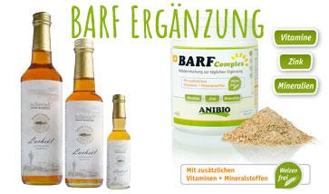 BARF Öle, Ergänzung und Zusätze