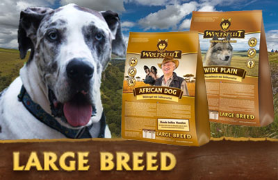 Wolfsblut Large Breed Hundefutter