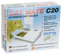 Cat Mate C20 Nassfutter Automat 26 x 21 x 8 cm, 201C, doppelt