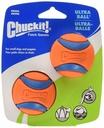 CHUCKIT! Ultra Ball Small, 5cm, 2er Pack