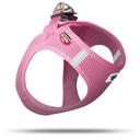Curli Vest Hunde Geschirr Air-Mesh Halsumfang 20 - 24 cm, Brustumfang 24 - 28 cm, pink