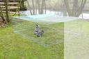 Erweiterungselement für Kerbl Freilaufgehege 82825 230x76x70cm