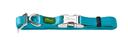 Hunter Halsband Vario Basic Alu Strong Verschluss M: 30-45 cm, 1,5 cm breit, petrol