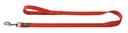 Hunter Hundeleine Nylon 1,10 m, 10 mm breit, rot