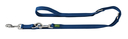 Hunter Hundeleine Nylon 2,00 m, 10 mm breit, verstellbar, marine
