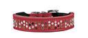 Hunter Rivellino Halsband S, 38-44cm, B30mm, rot