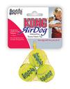 Tennisbälle AirDog mit Squeaker für Hunde X-Small im Netz, 3 x 3 cm, 3 Stück