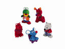 Latex Tierfiguren Hundespielzeug 8 - 10 cm, verschiedene Figuren