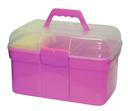 Kerbl Pferde Putzbox für Kinder befüllt rosa