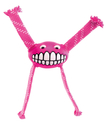 Rogz Grinz Flossy - Hundeball mit Zottel Gr. L – pink