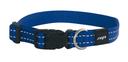 Rogz Utility Side Release Hundehalsband Nitelife Gr. S: Halsumfang 20 - 31 cm, blau