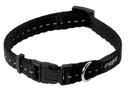 Rogz Utility Side Release Hundehalsband Nitelife Gr. S: Halsumfang 20 - 31 cm, schwarz