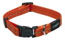 Rogz Utility Side Release Hundehalsband Nitelife Gr. S: Halsumfang 20 - 31 cm, orange