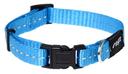 Rogz Utility Side Release Hundehalsband Nitelife Gr. S: Halsumfang 20 - 31 cm, türkis