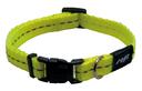 Rogz Utility Side Release Hundehalsband Nitelife Gr. S: Halsumfang 20 - 31 cm, gelb