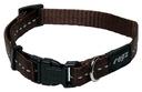 Rogz Utility Side Release Hundehalsband Nitelife Gr. S: Halsumfang 20 - 31 cm, schoko