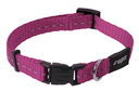 Rogz Utility Side Release Hundehalsband Nitelife Gr. S: Halsumfang 20 - 31 cm, pink