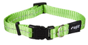 Rogz Utility Side Release Hundehalsband Nitelife Gr. S: Halsumfang 20 - 31 cm, lime