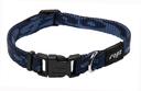 Rogz Alpinist Hundehalsband Kilimanjaro Gr. S: Halsumfang 20 - 31 cm, navy