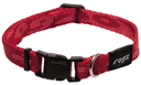 Rogz Alpinist Hundehalsband Kilimanjaro Gr. S: Halsumfang 20 - 31 cm, rot
