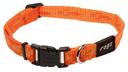 Rogz Alpinist Hundehalsband Kilimanjaro Gr. S: Halsumfang 20 - 31 cm, orange