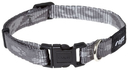 Rogz Alpinist Hundehalsband Kilimanjaro Gr. S: Halsumfang 20 - 31 cm, platinum