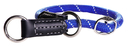 Rogz Rope Tau Halsband Obedience Größe S: Halsumfang 30 - 35 cm, blau