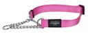 Rogz Utility Obedience Hundehalsband Snake Gr. M: Halsumfang 26 - 40 cm, pink