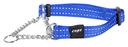 Rogz Utility Obedience Hundehalsband Snake Gr. M: Halsumfang 26 - 40 cm, blau