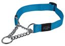 Rogz Utility Obedience Hundehalsband Snake Gr. M: Halsumfang 26 - 40 cm, türkis