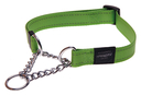 Rogz Utility Obedience Hundehalsband Snake Gr. M: Halsumfang 26 - 40 cm, lime