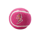 Rogz Molecules Tennisball für Hunde pink - L