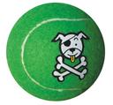 Rogz Molecules Tennisball für Hunde lime - L
