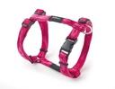 Rogz Alpinist H-Geschirr für Hunde Kilimanjaro Gr. S: Halsumfang 20 - 24 cm, Brustumfang 23 - 37 cm, pink