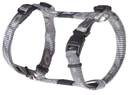 Rogz Alpinist H-Geschirr für Hunde Kilimanjaro Gr. S: Halsumfang 20 - 24 cm, Brustumfang 23 - 37 cm, silber