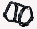 Rogz Alpinist H-Geschirr für Hunde Kilimanjaro Gr. S: Halsumfang 20 - 24 cm, Brustumfang 23 - 37 cm, schwarz