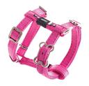 Rogz Lapz Hundegeschirr Luna Größe M: Halsumfang 37 - 64 cm, Brustumfang 40 - 70 cm, pink