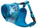 Rogz Lapz Trendy Wrapz Hundegeschirr gepolstert Größe XS: Halsumfang 18 cm, Brustumfang 27 - 34 cm, blau