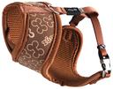 Rogz Lapz Trendy Wrapz Hundegeschirr gepolstert Größe XS: Halsumfang 18 cm, Brustumfang 27 - 34 cm, braun