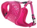 Rogz Lapz Trendy Wrapz Hundegeschirr gepolstert Größe XS: Halsumfang 18 cm, Brustumfang 27 - 34 cm, pink