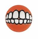 ROGZ Grinz Ball für Hunde 4,9cm Ø orange