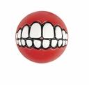 ROGZ Grinz Ball für Hunde 4,9cm Ø rot
