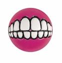 ROGZ Grinz Ball für Hunde 4,9cm Ø pink