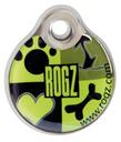 RogZ ID Tag - Adressanhänger S - Lime Juice
