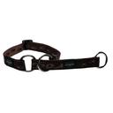 Rogz Alpinist Halsband mit Zugstopp Matterhorn Gr. M: Halsumfang 26 - 40 cm, schoko