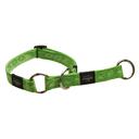Rogz Alpinist Halsband mit Zugstopp Matterhorn Gr. M: Halsumfang 26 - 40 cm, lime
