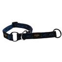 Rogz Alpinist Halsband mit Zugstopp Matterhorn Gr. M: Halsumfang 26 - 40 cm, blau