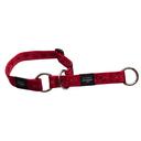 Rogz Alpinist Halsband mit Zugstopp Matterhorn Gr. M: Halsumfang 26 - 40 cm, rot