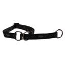 Rogz Alpinist Halsband mit Zugstopp Matterhorn Gr. M: Halsumfang 26 - 40 cm, schwarz